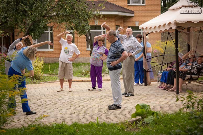 Дом престарелых в Киеве