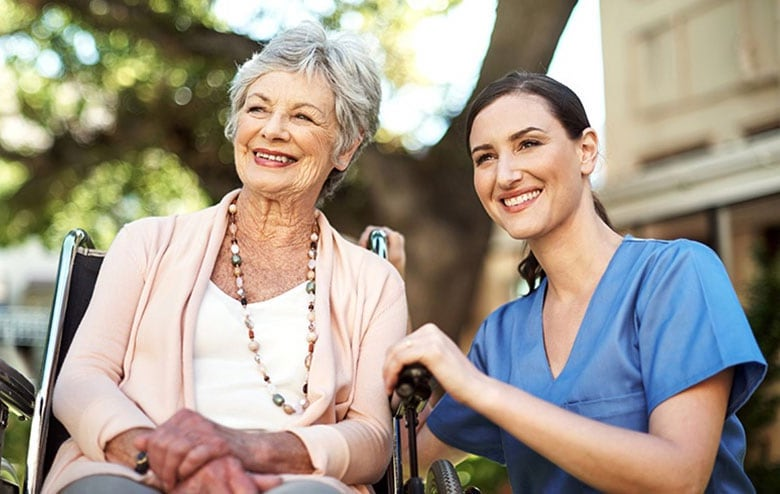 как оформить человека в дом престарелых