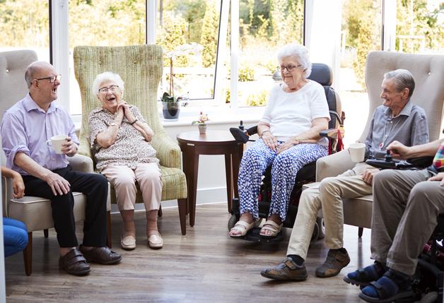 Цена проживания в доме престарелых в Украине
