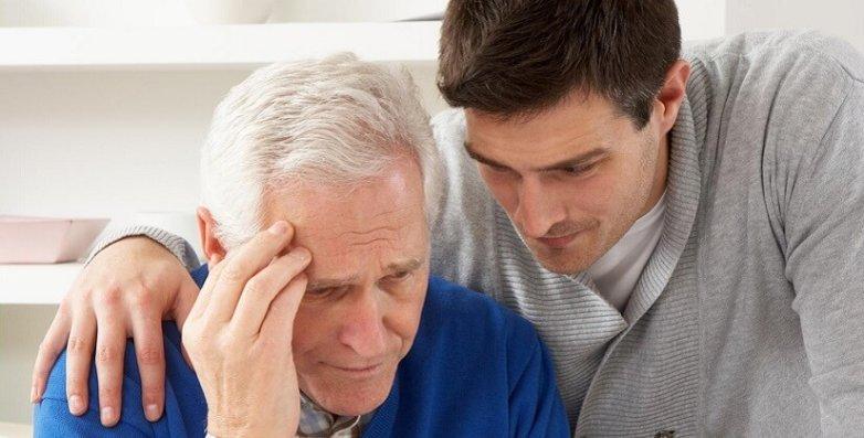 Старческая деменция тяжелая болезнь
